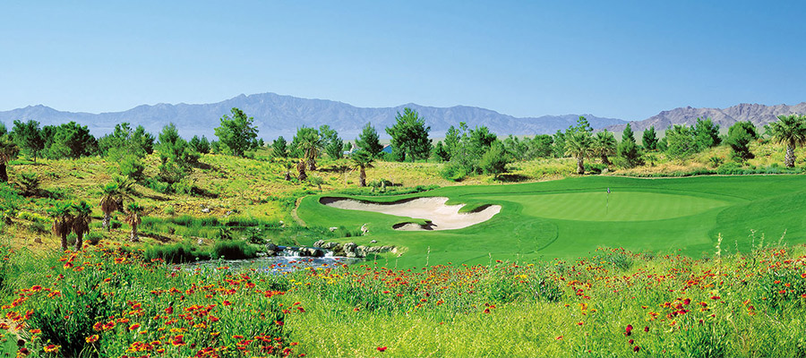 golf desert course