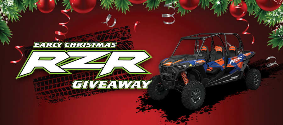 Early Christmas RZR Giveaway